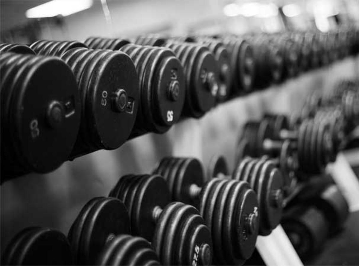 what weights should i lift the club gym