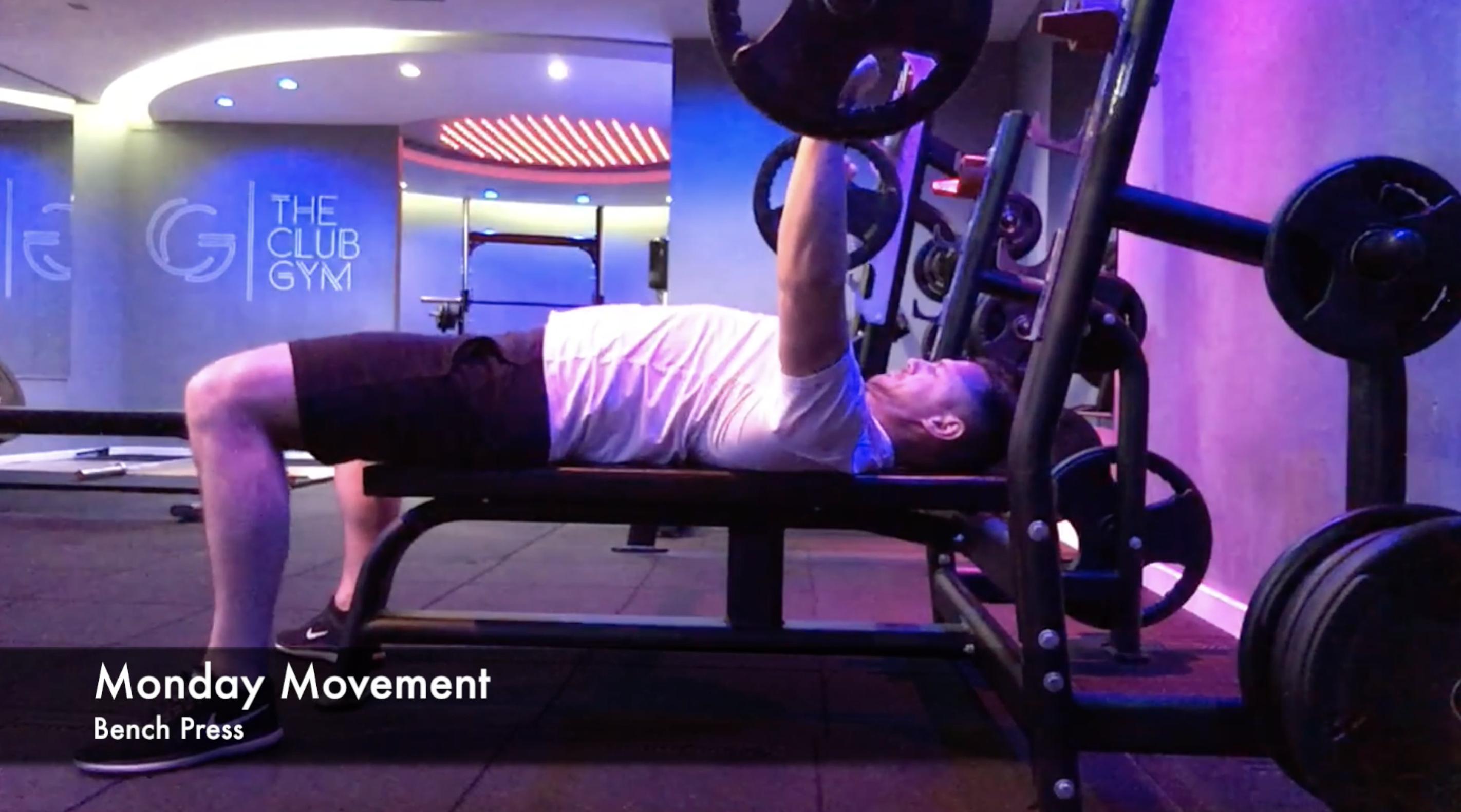 The Club Gym - Bench Press