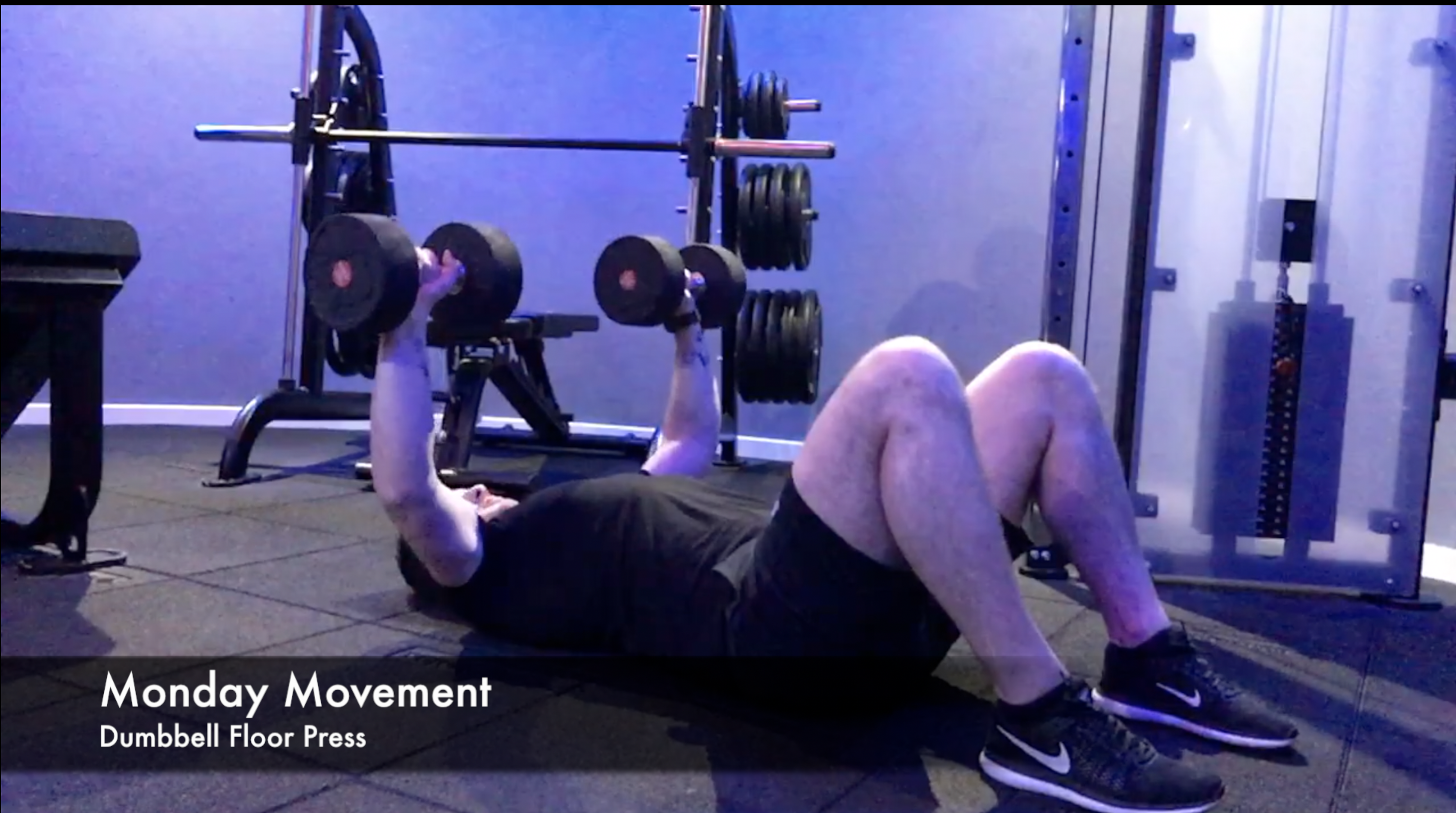 Monday Movement - Dumbbell Floor Press
