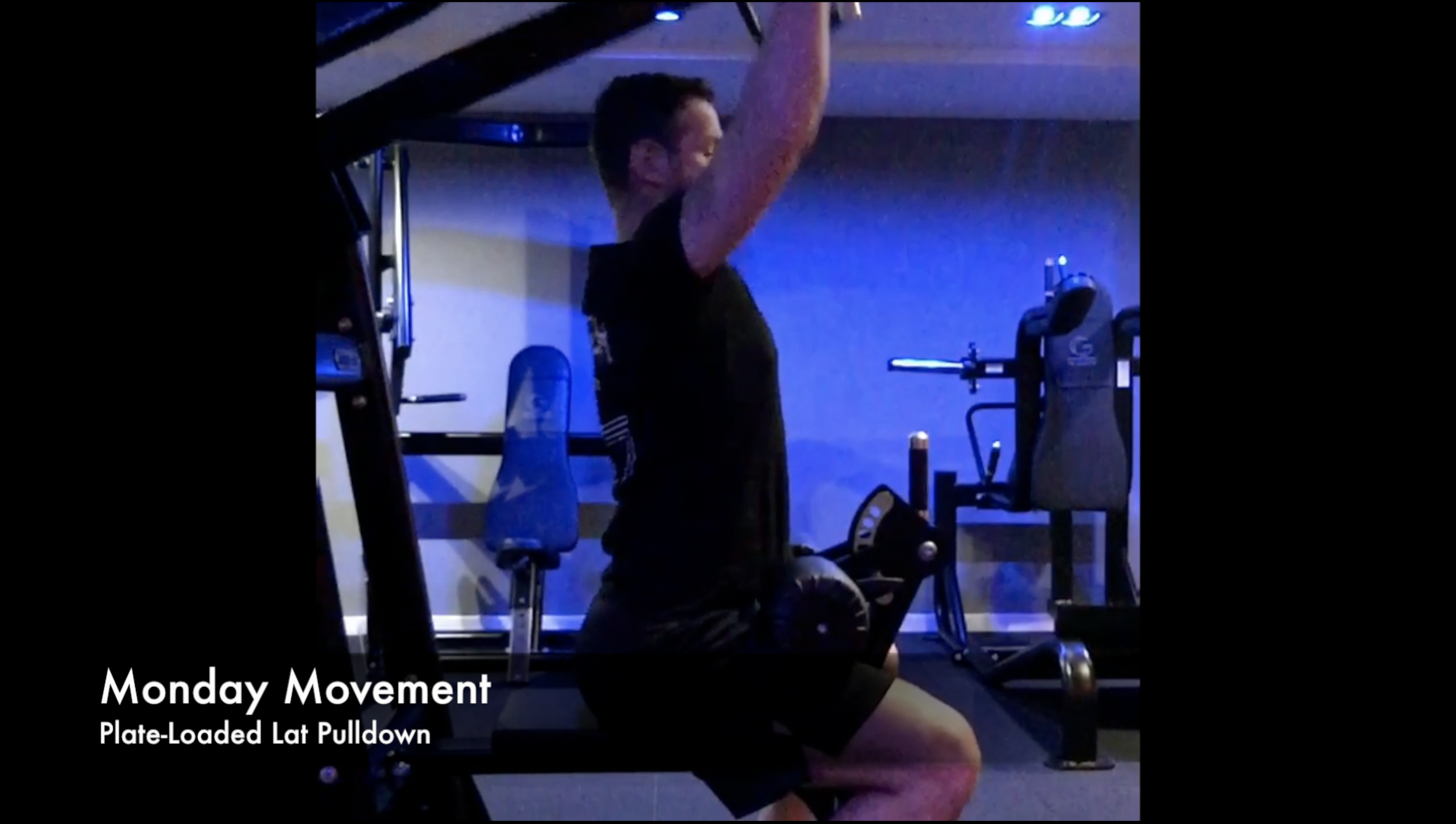 Plate-Loaded Lat Pulldown