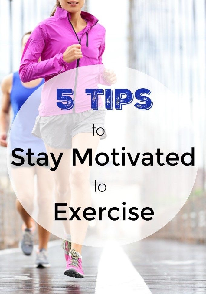 Motivation - 5 tips to keep exercising